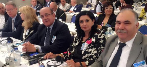 لبنان يشارك في القمة الاورو-متوسطية للمجالس الاقتصادية في روما