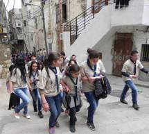 كشافة البيئة في المسابقة الثقافية الميدانية الثامنة