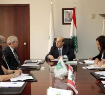 وزير البيئة عرض مع وفد البنك الدولي حول مشروع الالتزام البيئي للمنشآت الصناعية