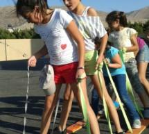 """مشروع """"مدرسة بدون جدران"""" في حمى عنجر"""