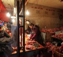 لحم ضأن محقون بماء ملوث لزيادة وزنه في الصين
