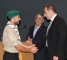 كشافة البيئة تحصل على جائزة الفينيق الاخضر للتنمية المستدامة