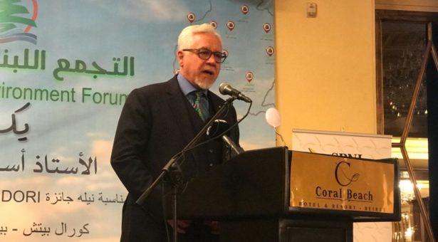 التجمع اللبناني للبيئة يكرم الأستاذ أسعد سرحال