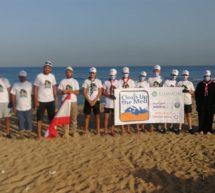محمية شاطئ صور الطبيعية و جمعية أمواج البيئة ضمن حملة   – Clean Up The Med لا حدود لمحاربة القمامة البحرية