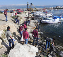 The Environmental Scout Organization carried out a campaign to clean the fishers' port in Tripoli