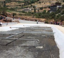 Natural wastewater treatment project in Bsharri