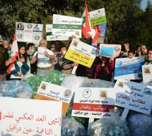 Closure of Naame landfill and garbage drowning Beirut and Mount Lebanon
