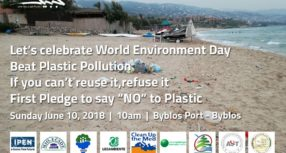 Let's celebrate World Environment Day- No to plastic